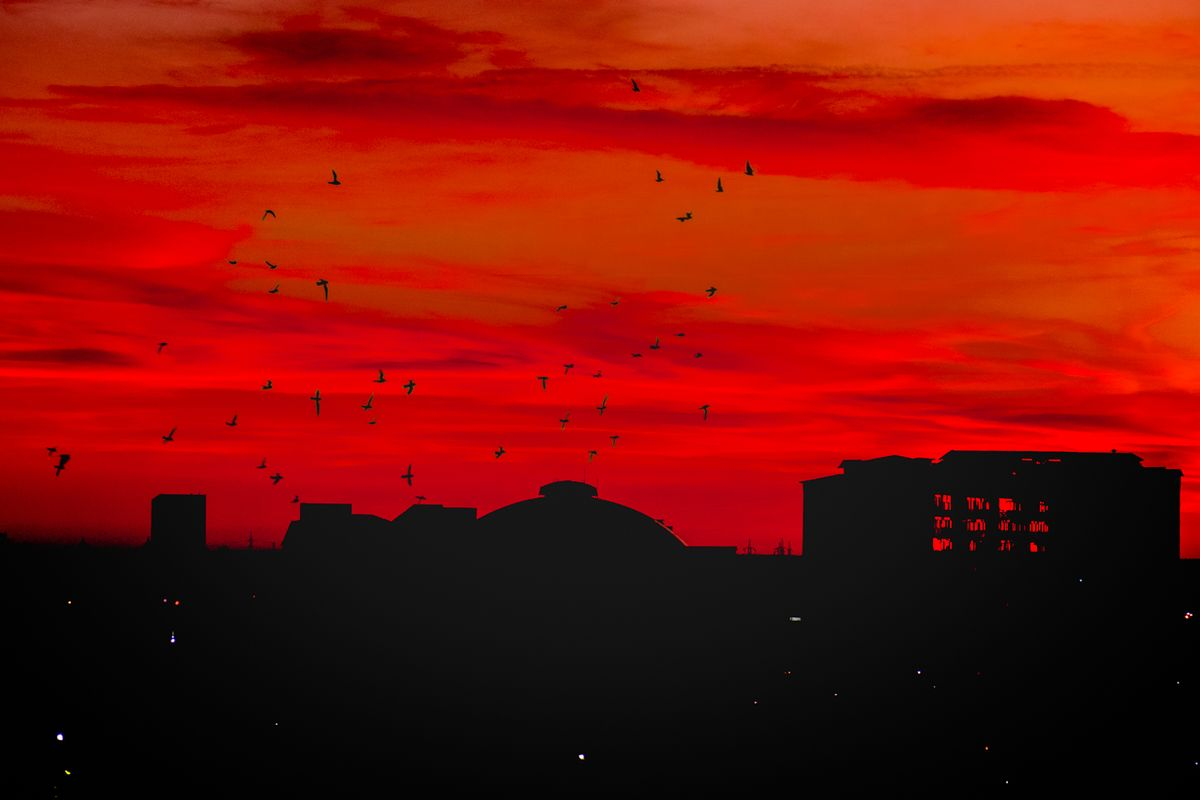 Apocaliptic sunset