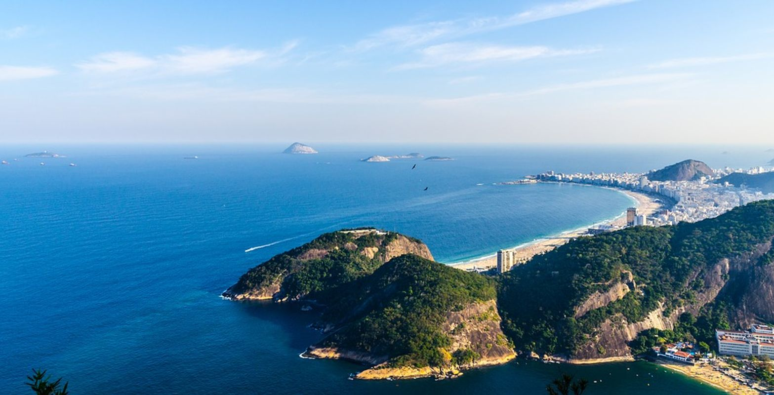 Beautiful Sugarloaf Mountain in Brazil