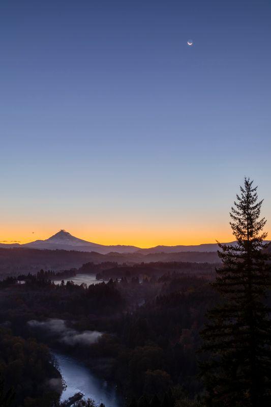 Sunrise- Sandy Oregon Mt Hood