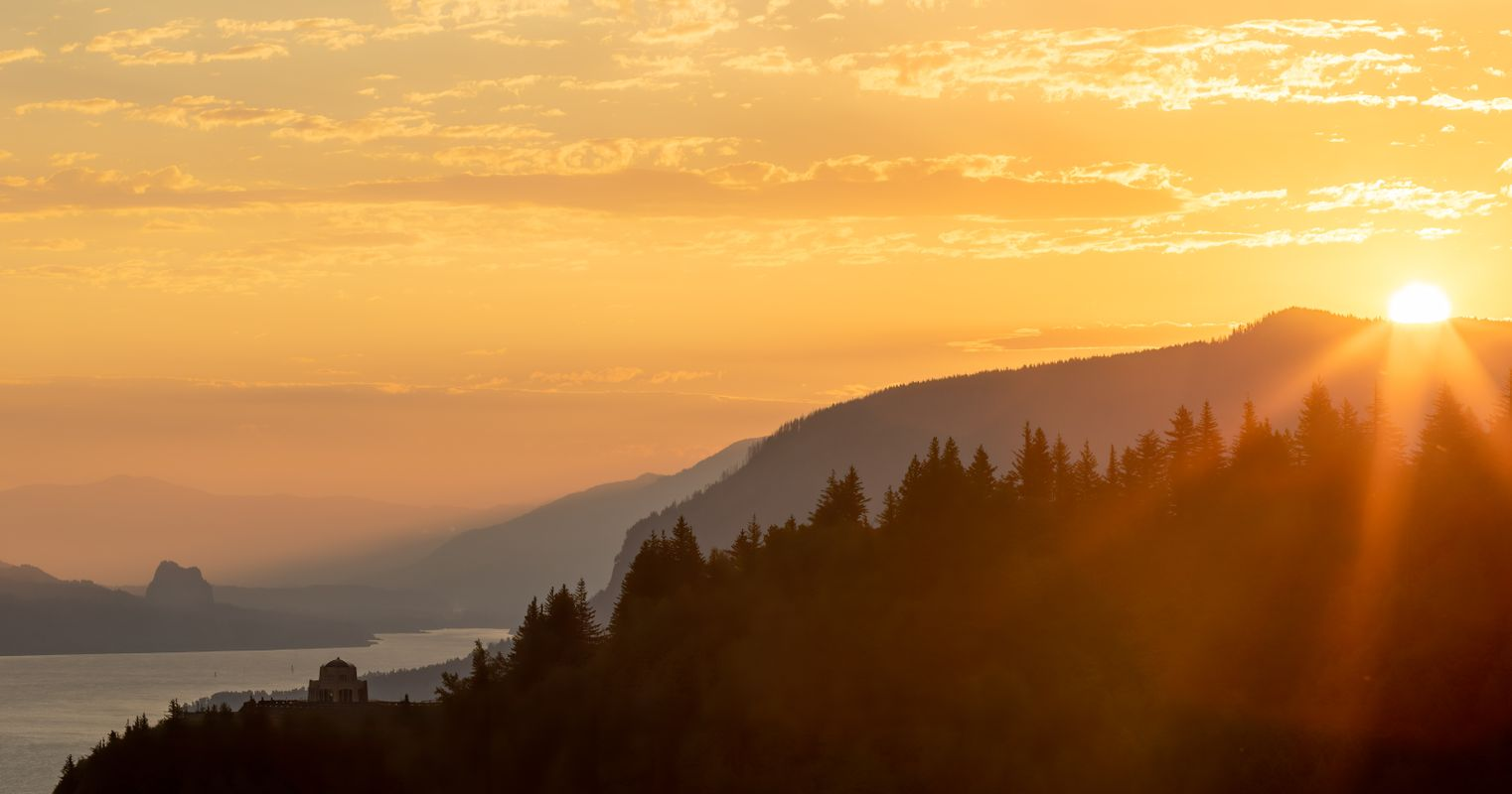 Columbia River Gorge- Another sunrise