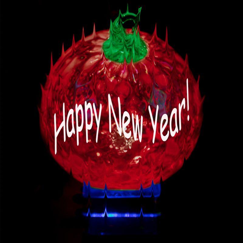 Apple Drop- Happy New Year