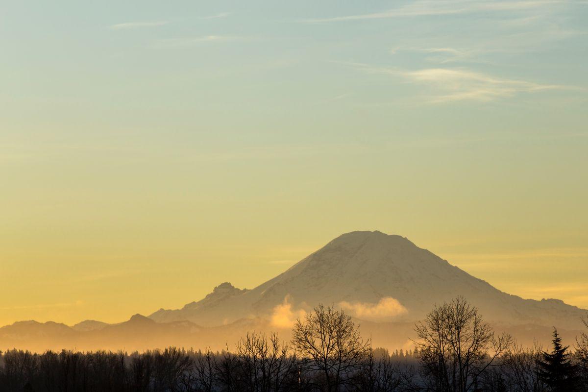 Mt Rainier Sunrise #1