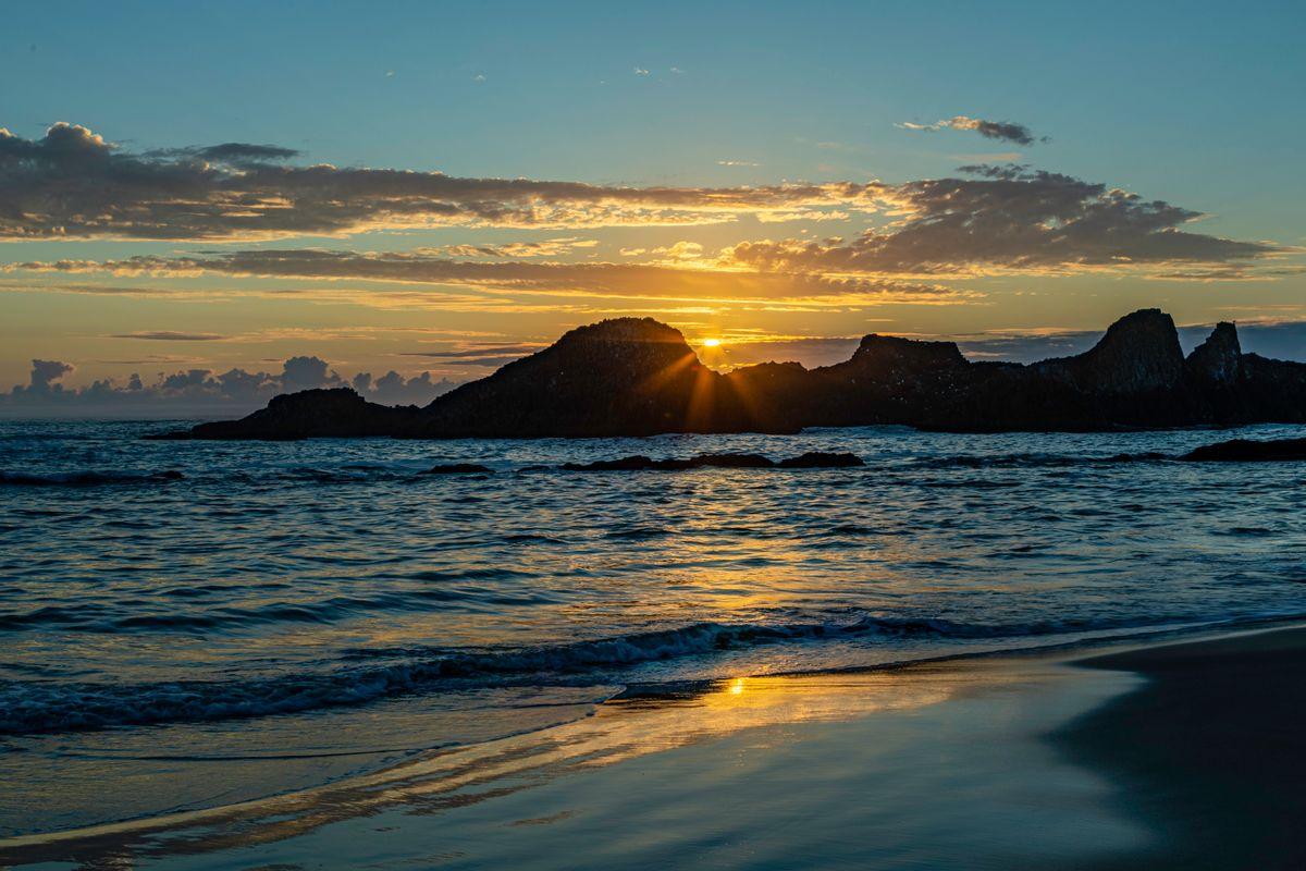 Seal Rock Beach- Sunset