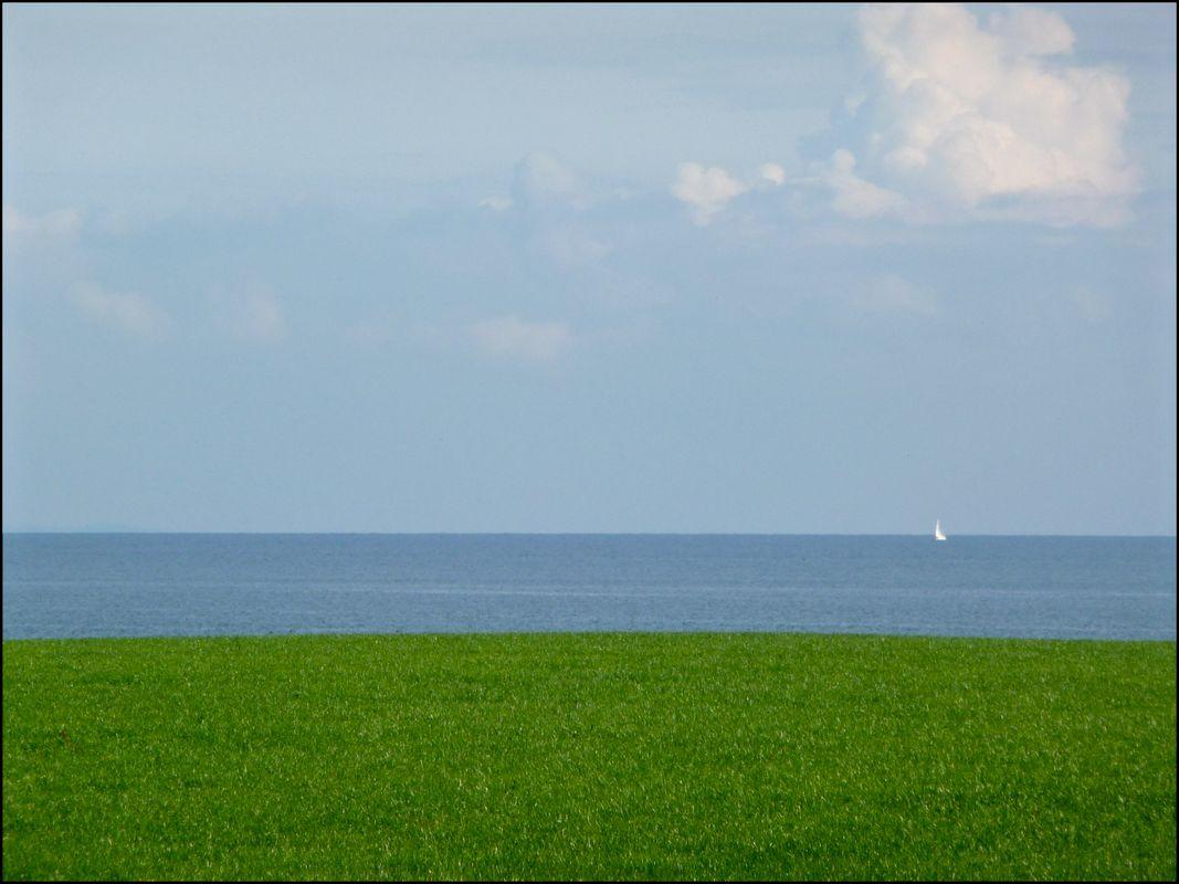 Minimalistic Landscape on Samsø, Denmark