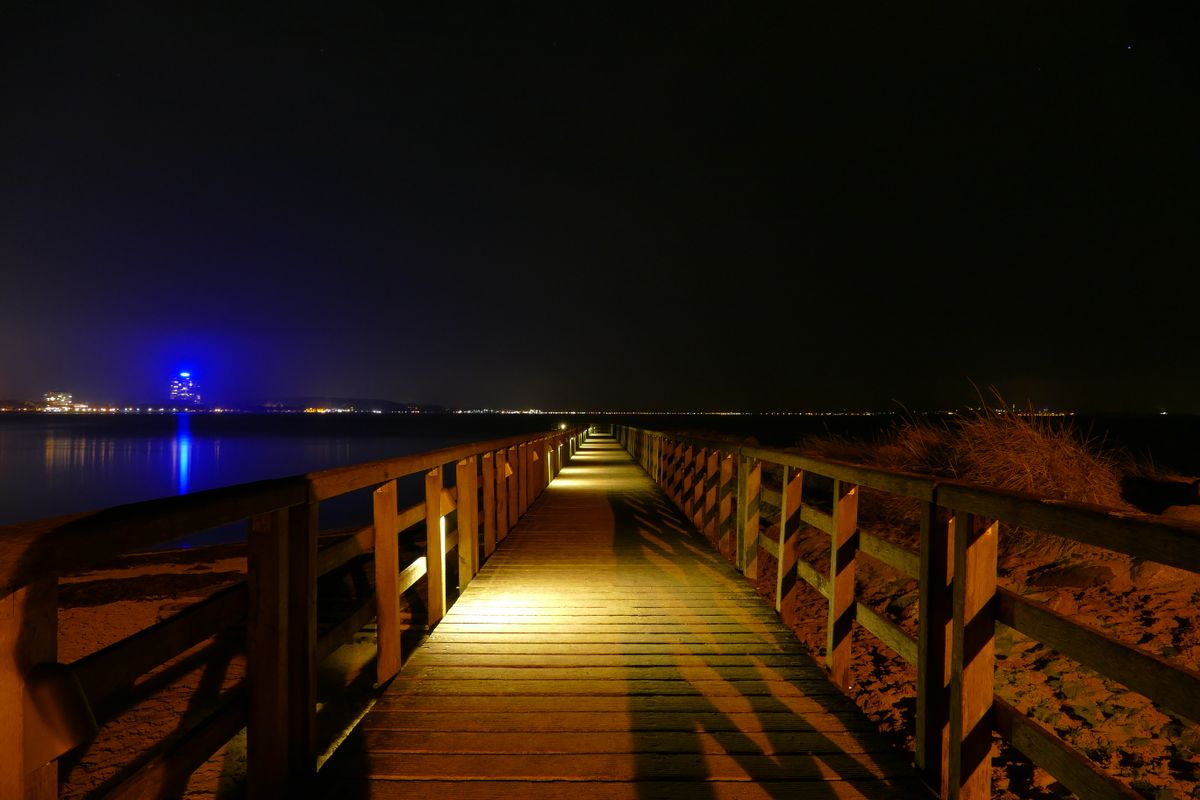 Dock at Night