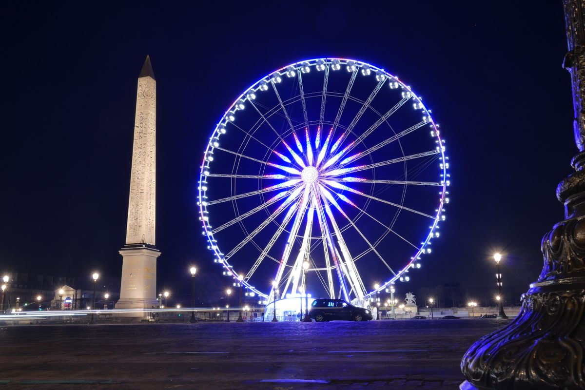 Place de la Concorde at night II