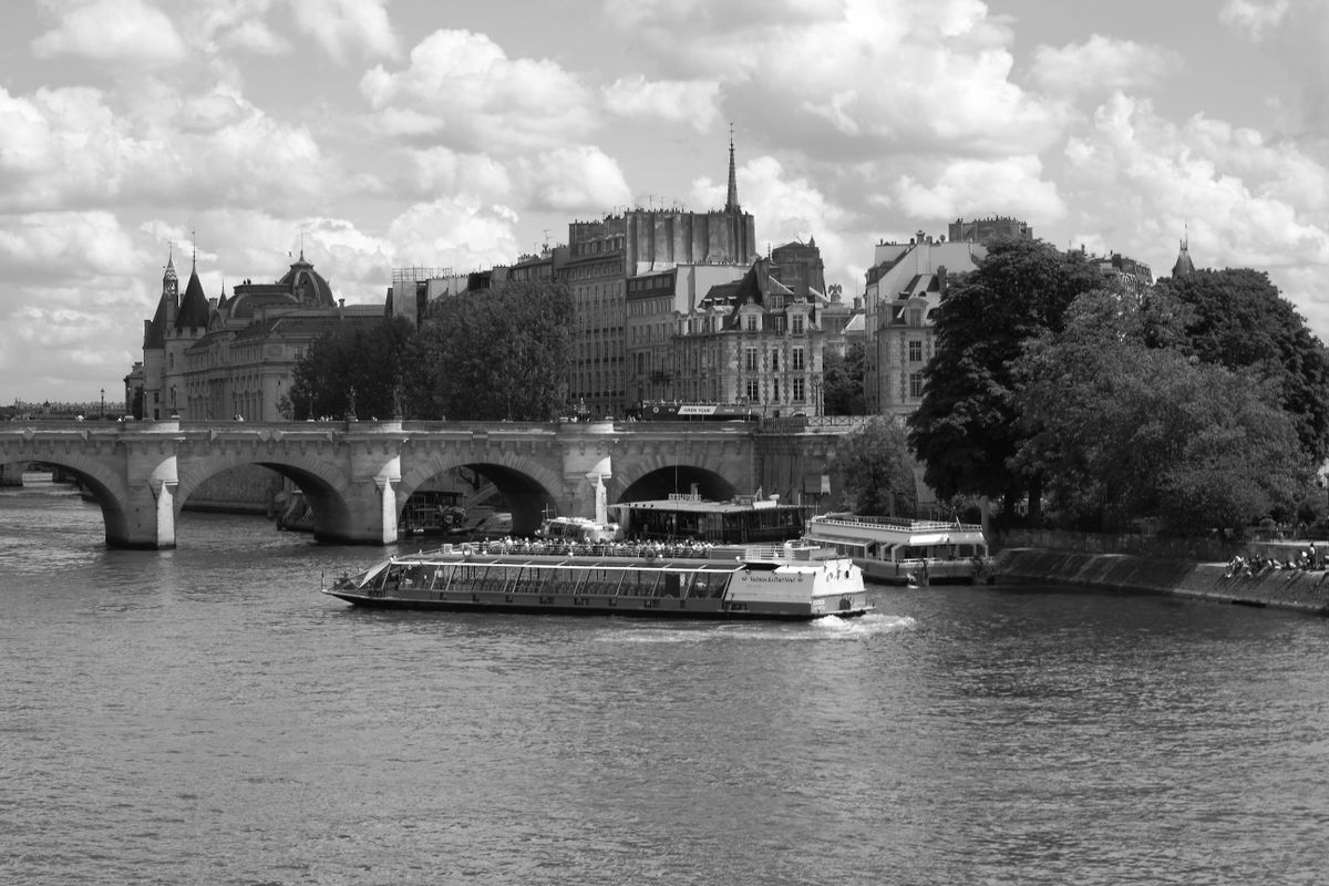 Departure from the Pont-Neuf
