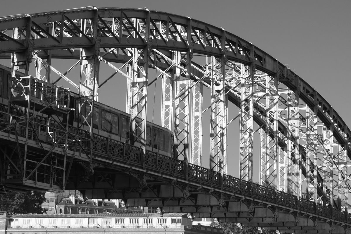 Metro on the viaduct