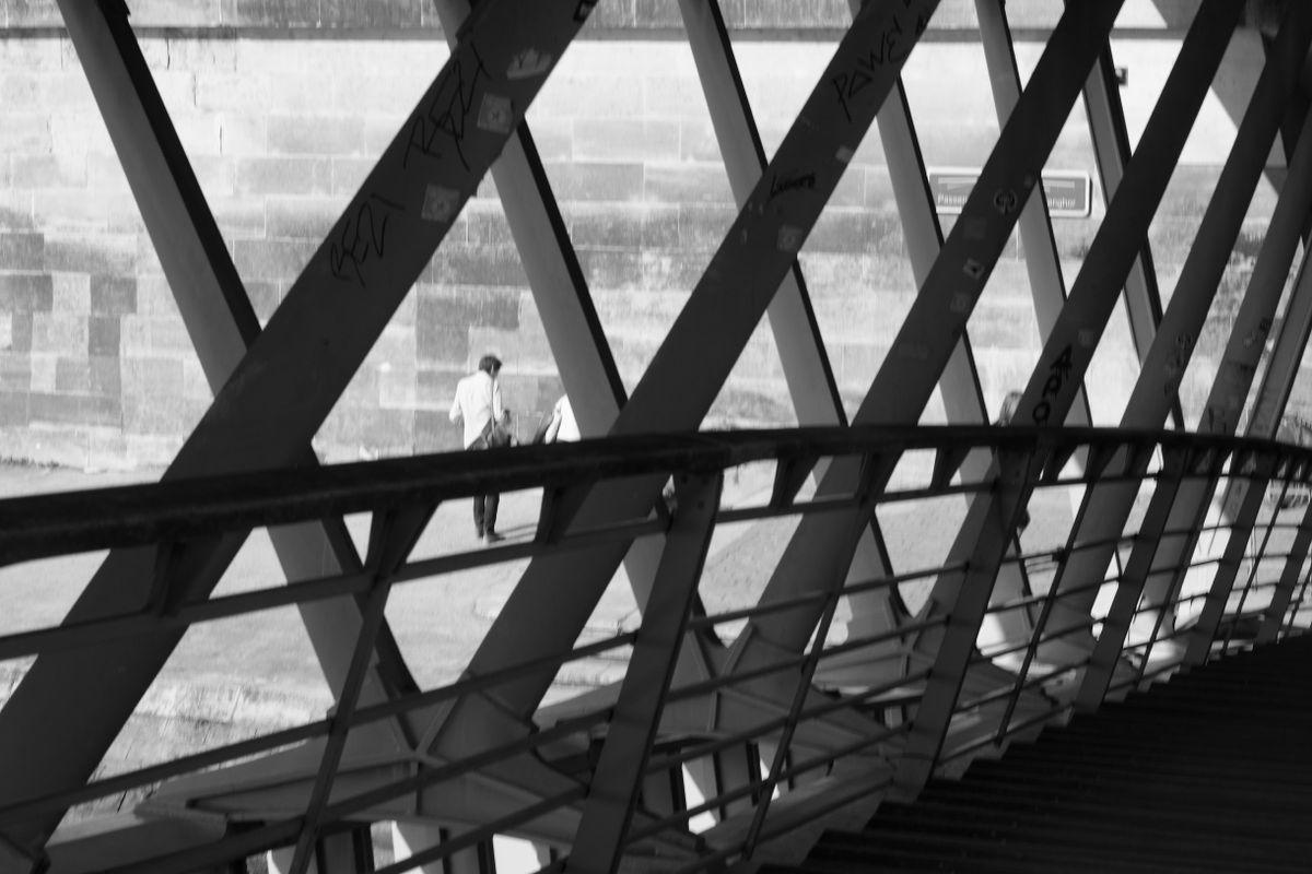 Passerelle over the Seine