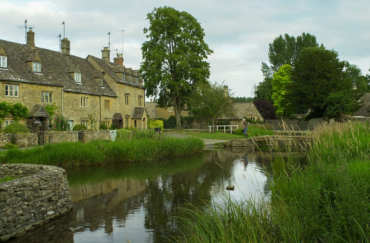 The Cotswold Village of Lower Slaughter