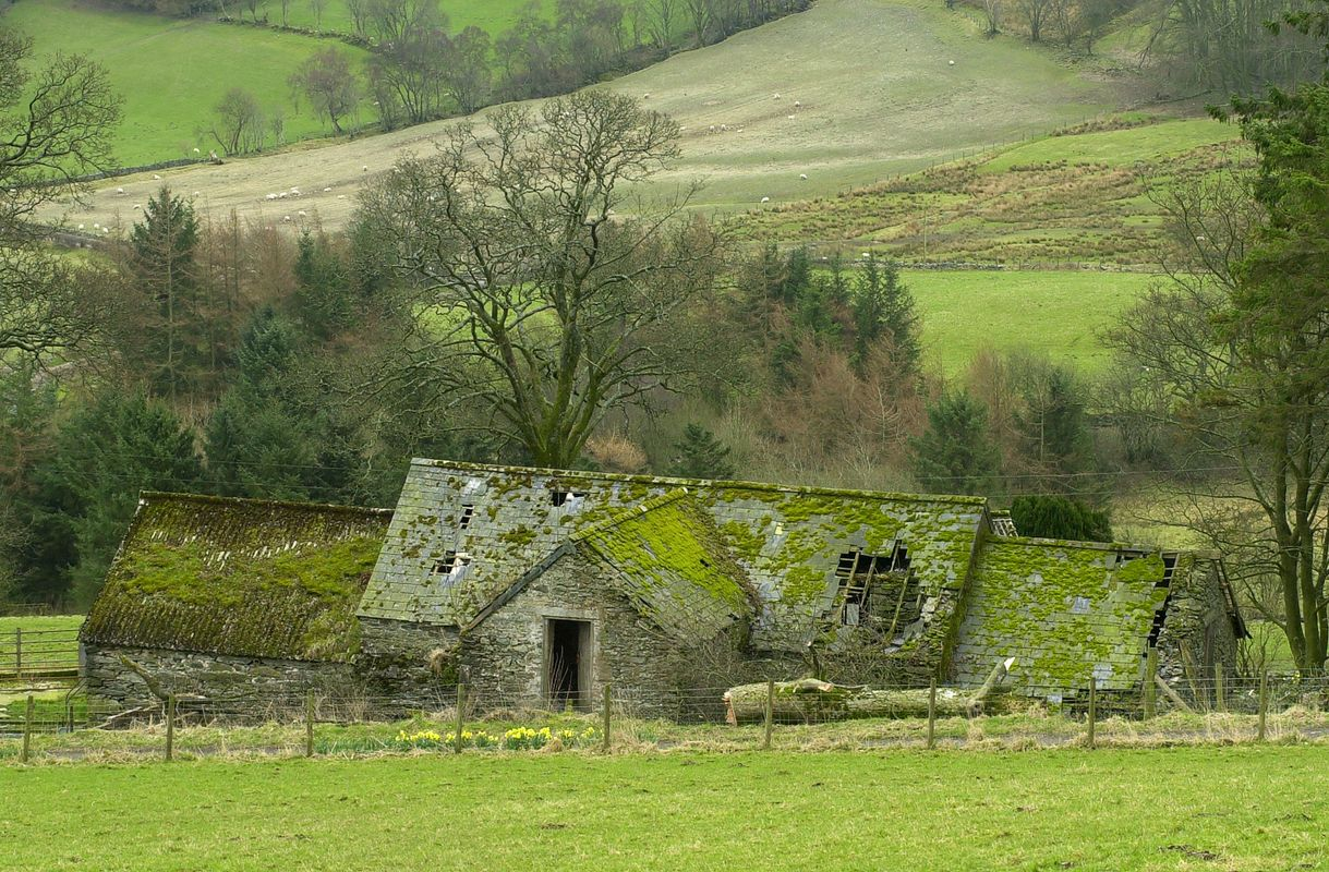 Old Dilapidated Barn, North Wales