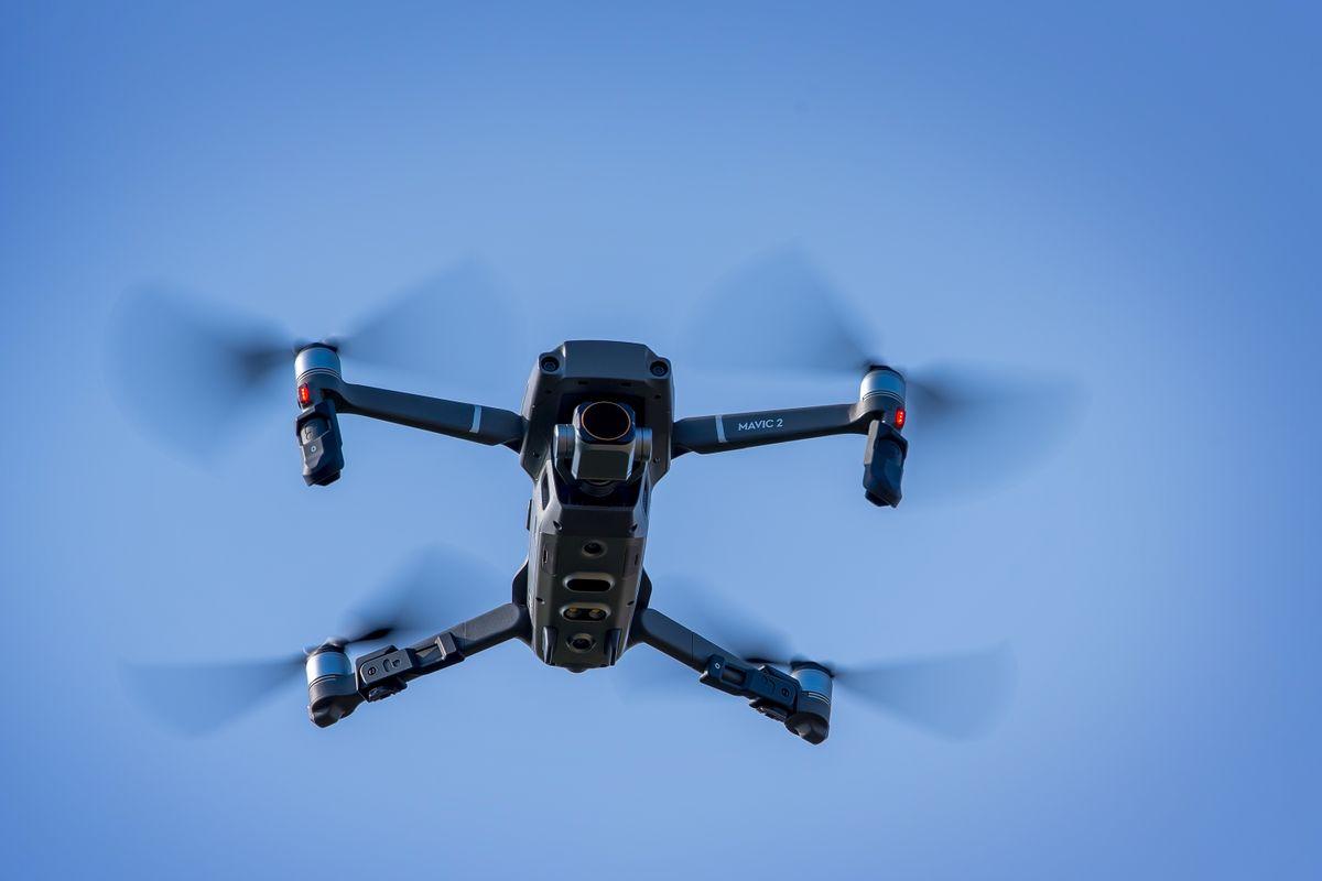 DJI Mavic 2 Pro Drone Hovering