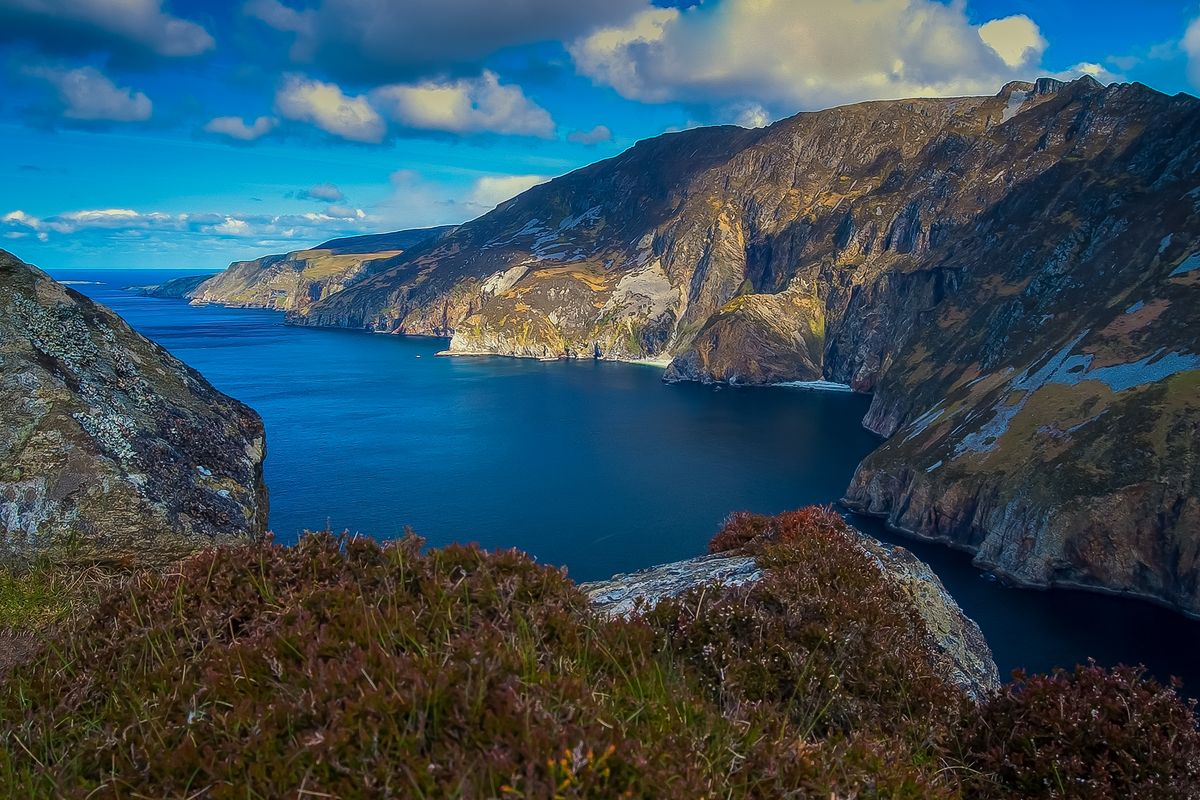 Slieve League Mountain and Cliffs, County Donegal, Ireland