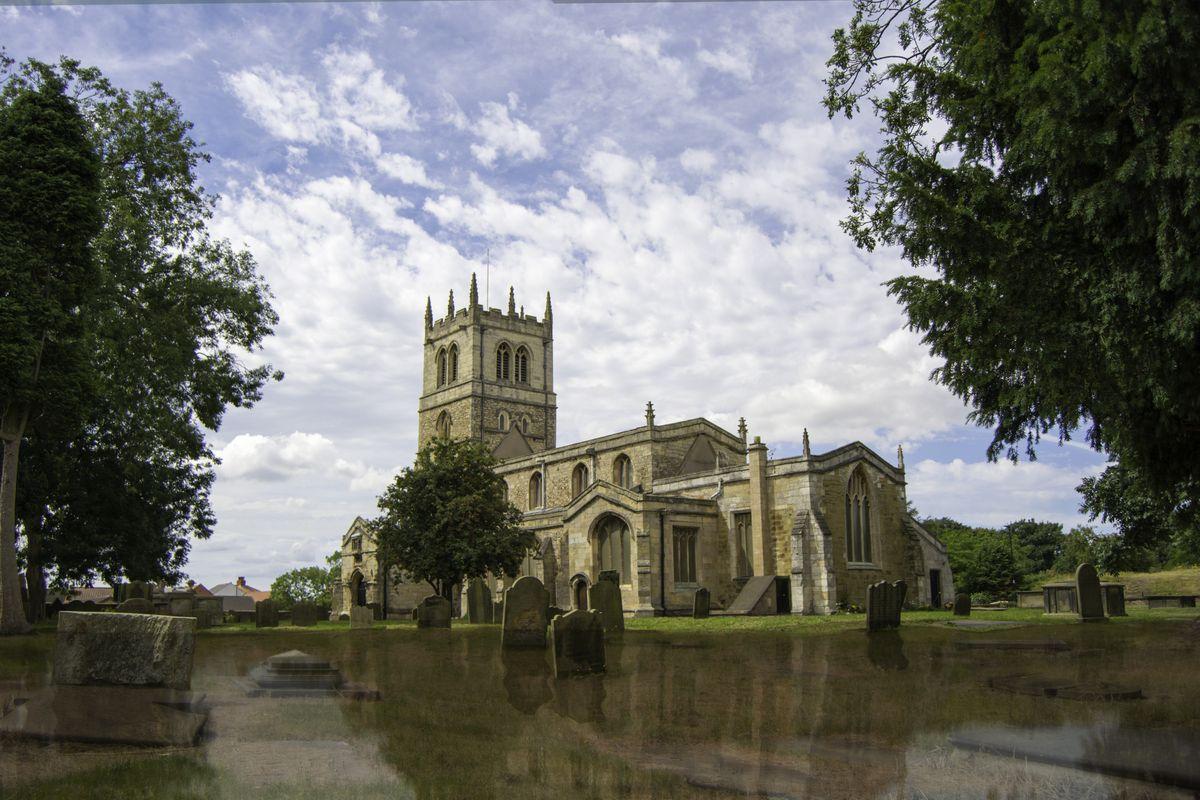 Church flood