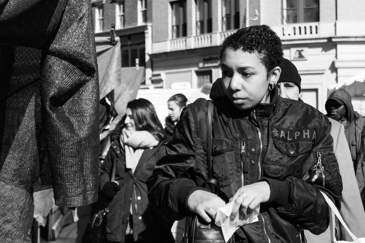 Strangers at the market 01
