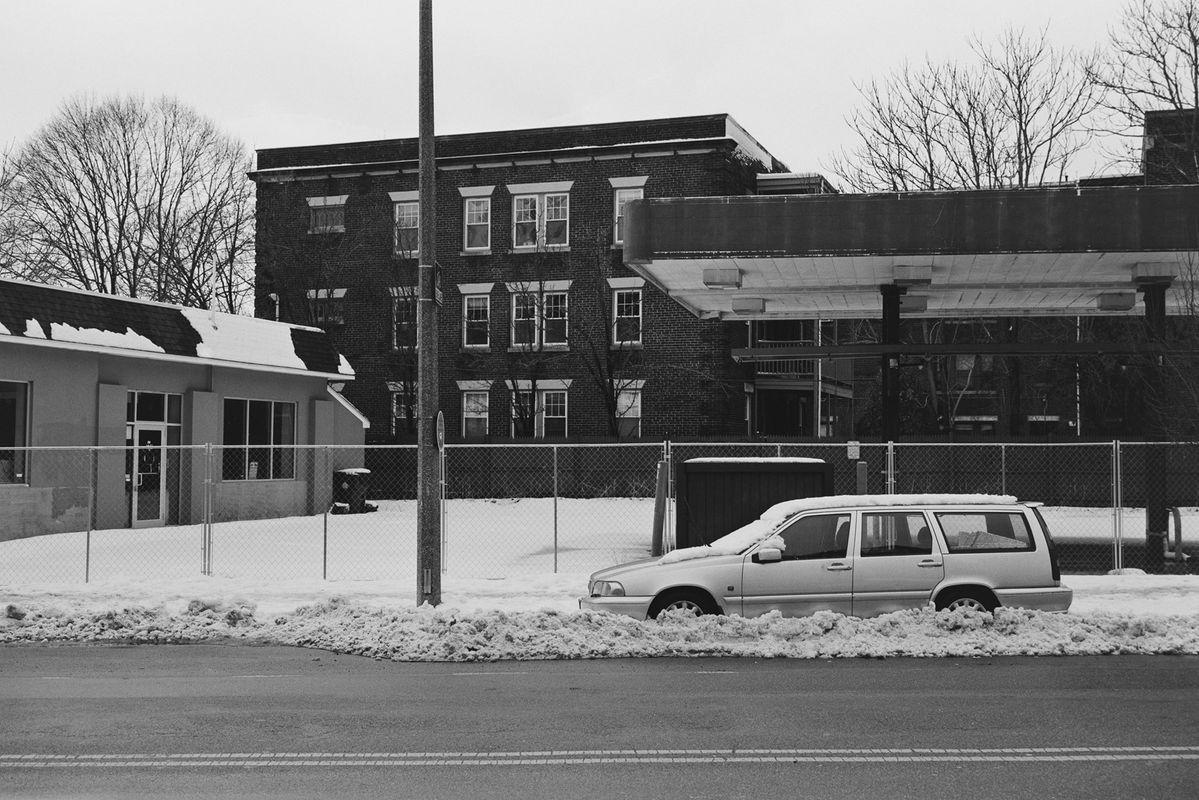 Building in Boston . film