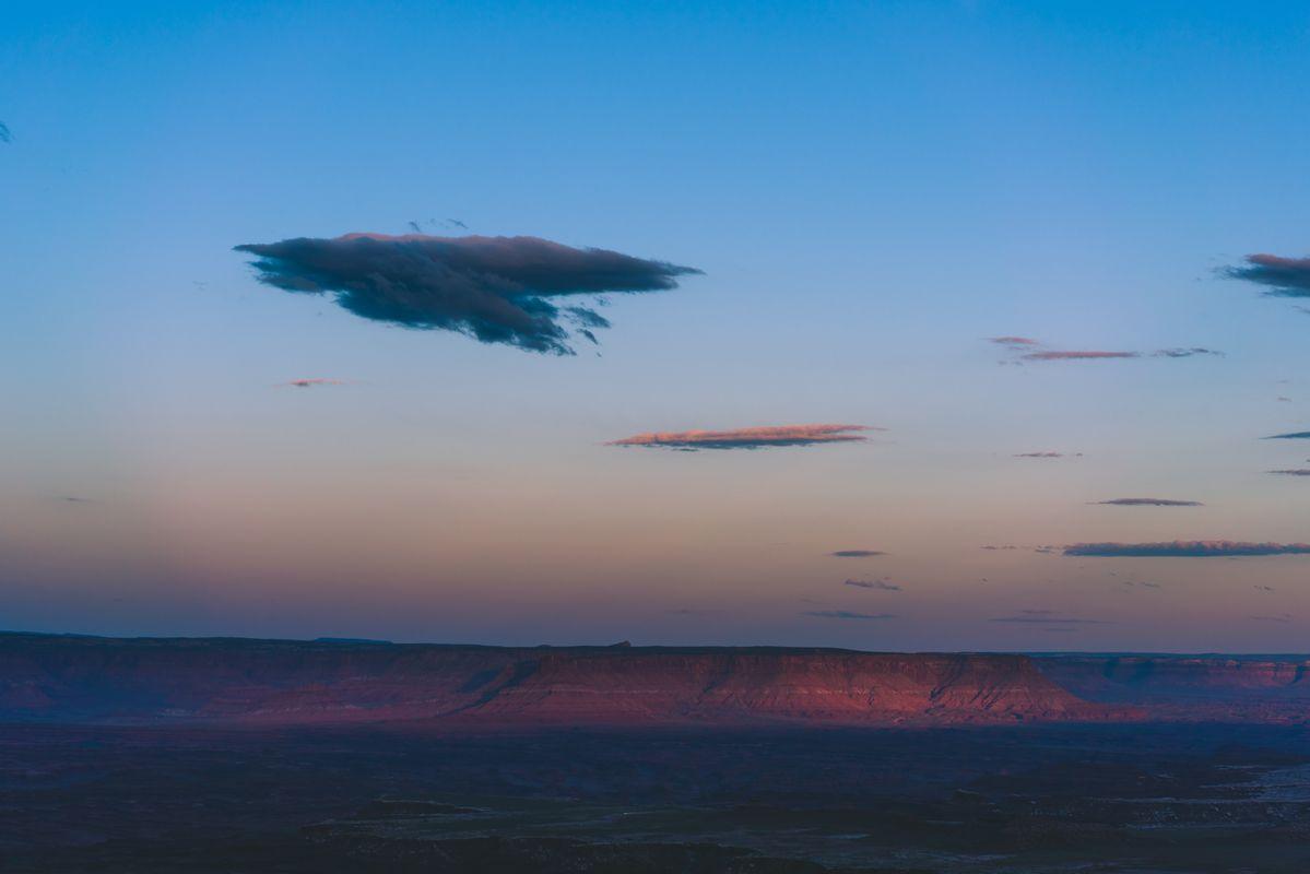 Sky in Utah