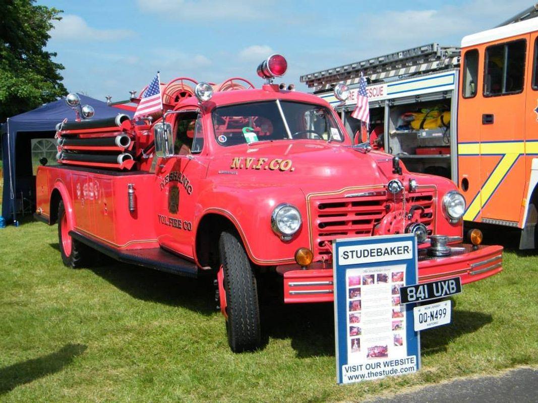 Studebaker fire engine