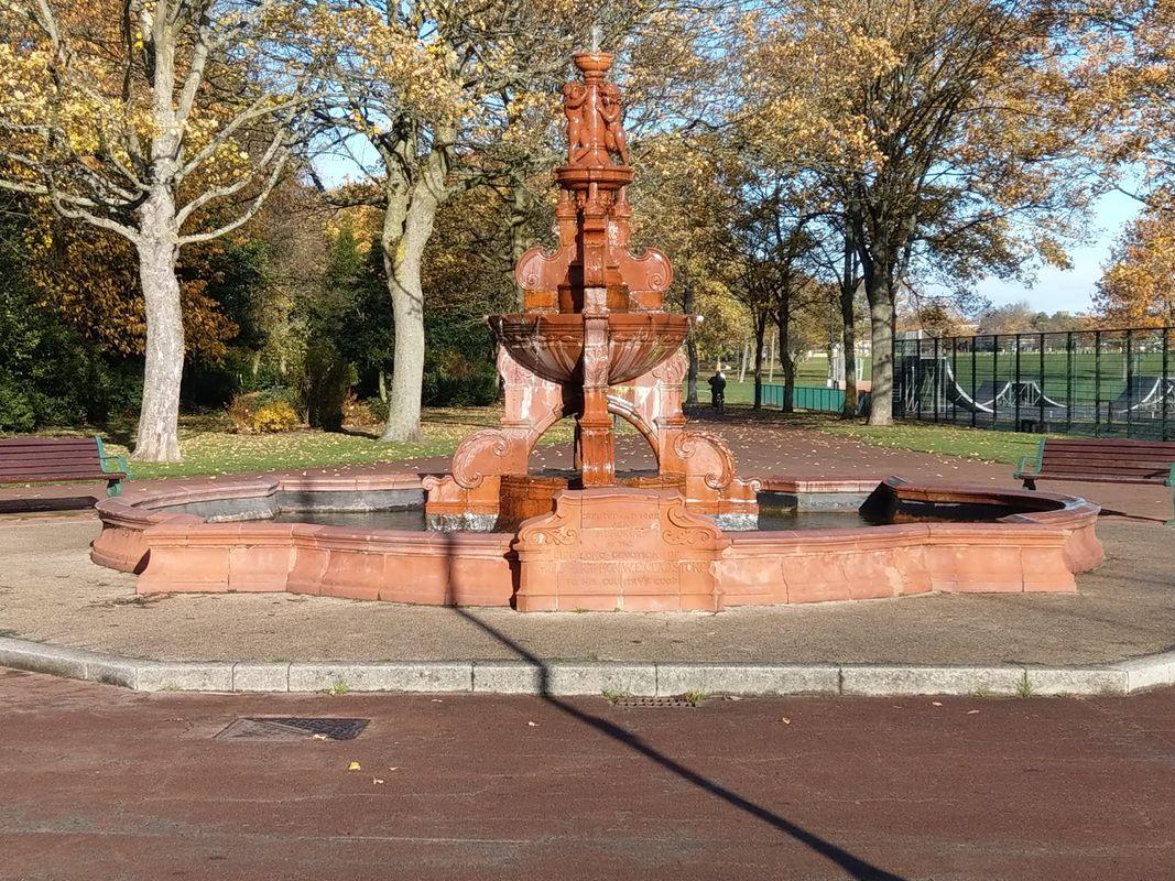 Vintage fountain