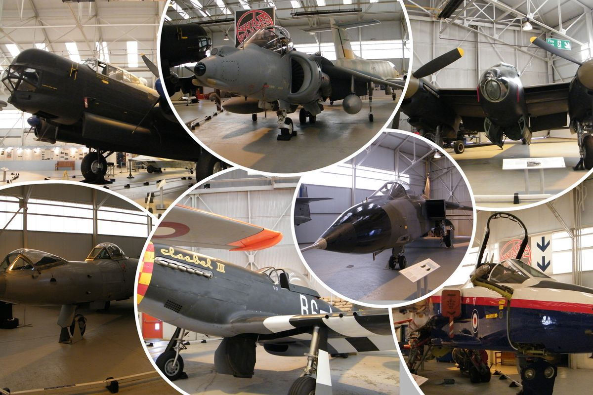 RAF Museum Cosford Collage v1