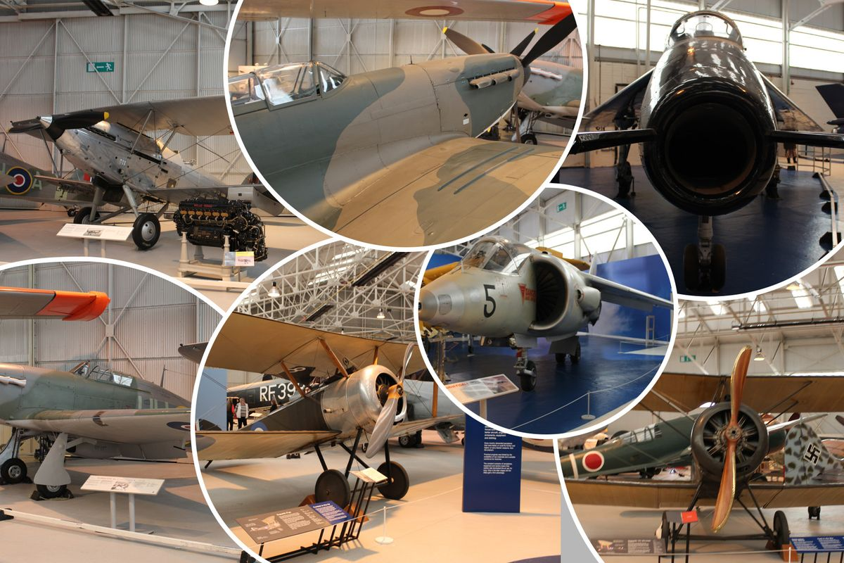 RAF Museum Cosford Collage v2