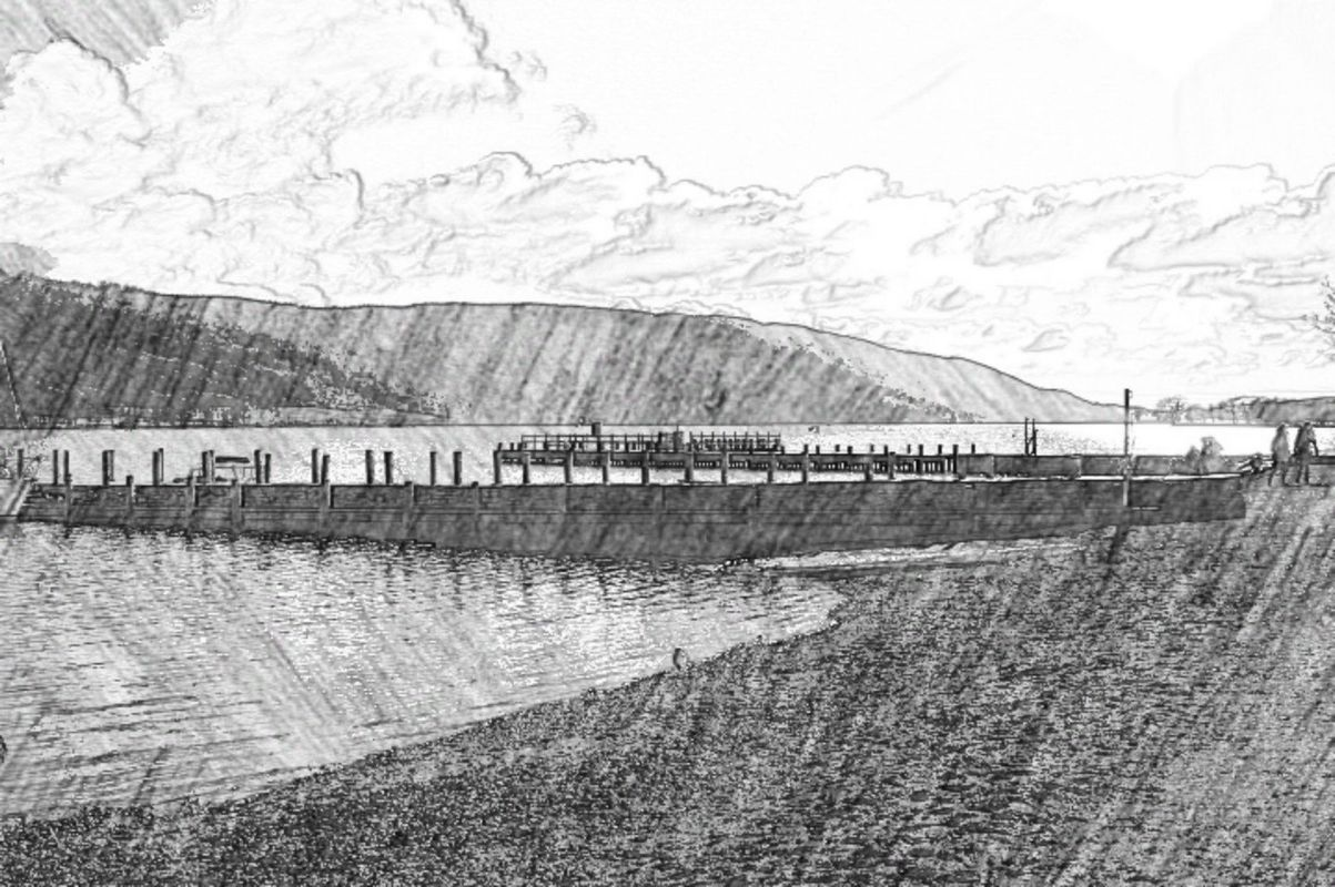 Coniston Water Sketch.