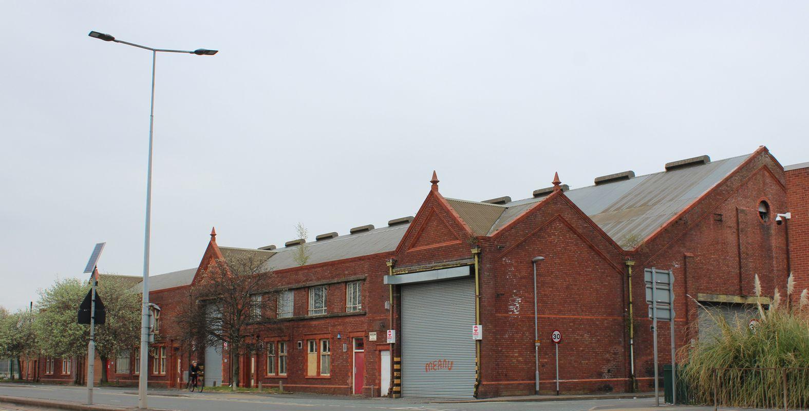 Widnes Bus Depot