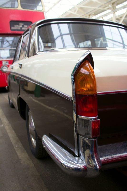Wolseley 16/60 rear