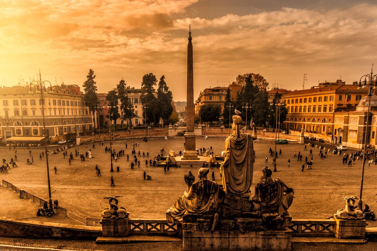 Sunrise in Piazza del Popolo (with shooting advice)