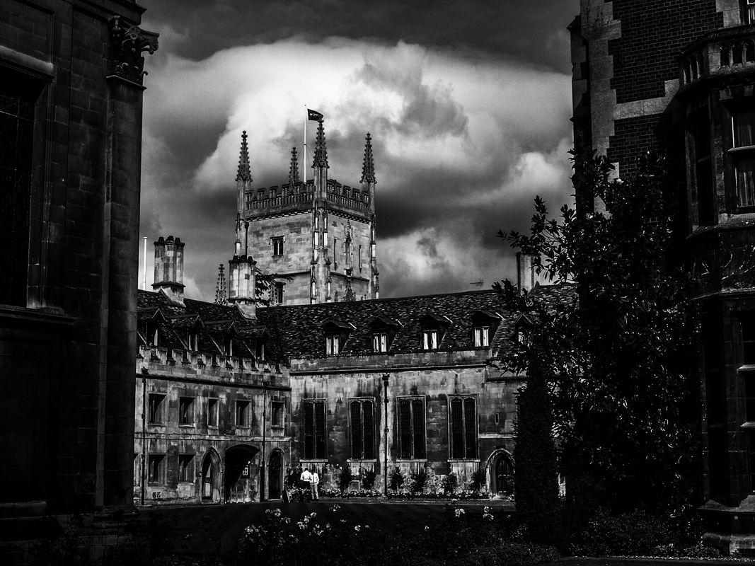 BW Pembroke College in Cambridge in England