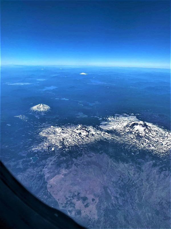 Aerial view of the mountains,Nevada