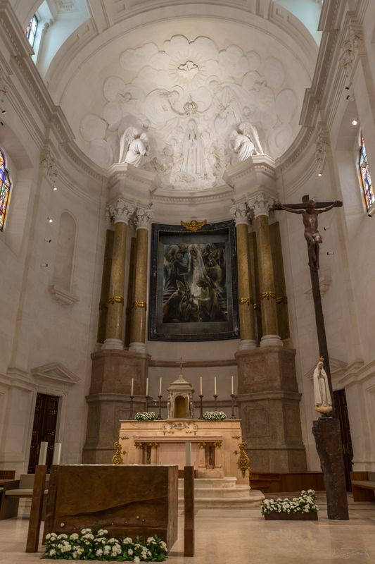 Basilica of Our Lady of Fatima - lightroom edit
