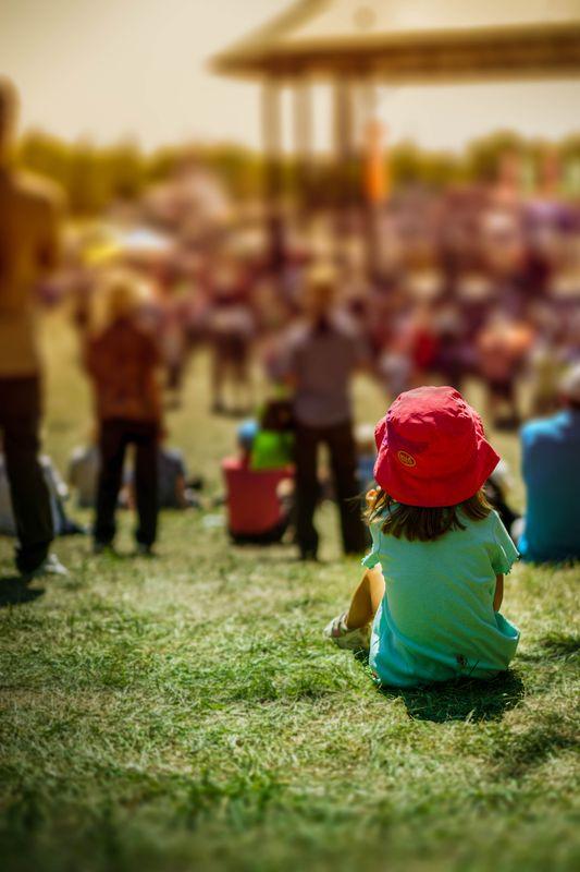 Little fan of buskerfest