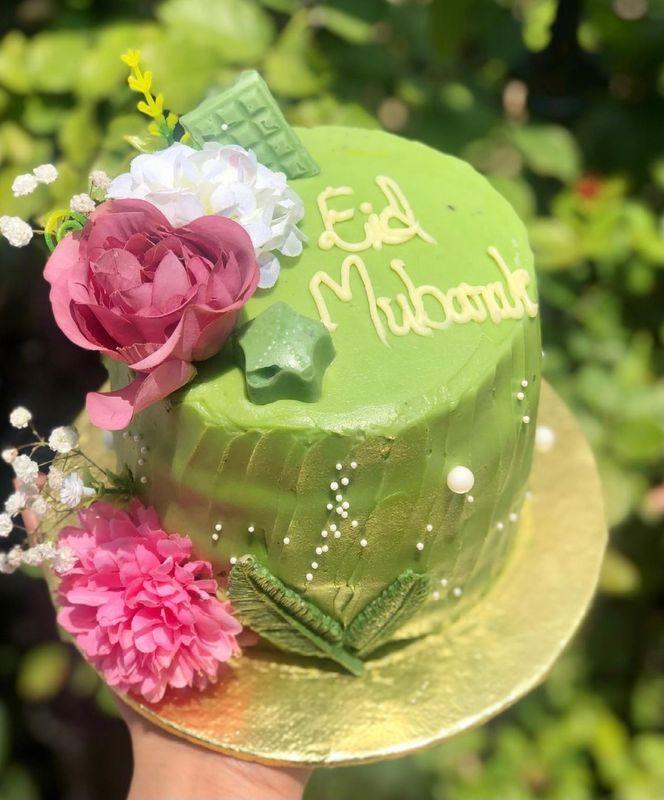 Cake for Eid Celebration
