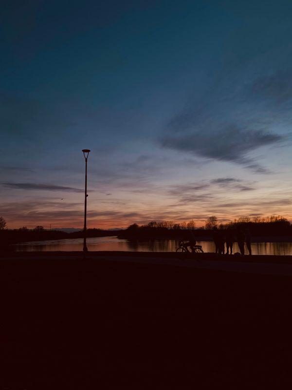 Sunset Sky Light