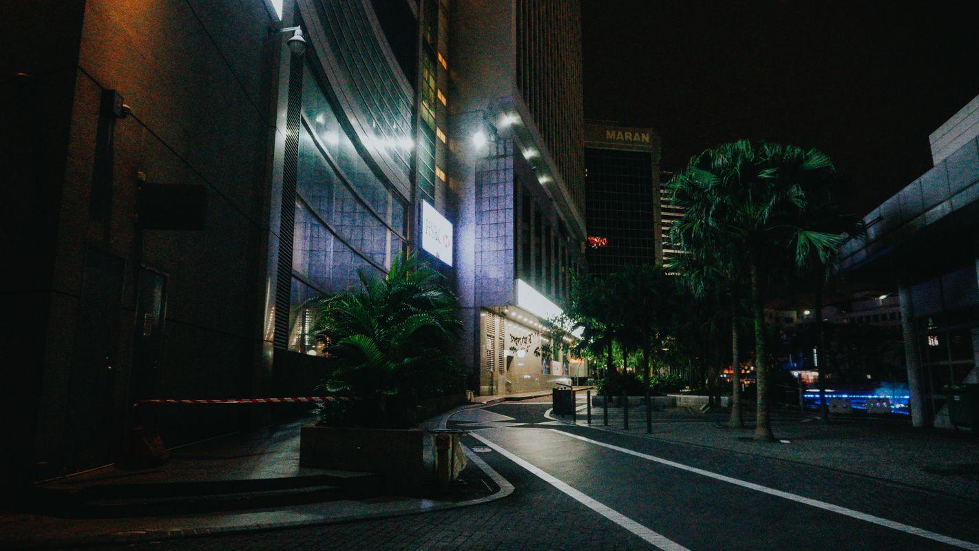 Maran a night walk