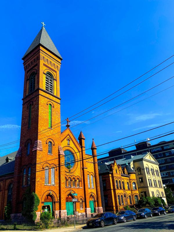 A St. Lucy's catholic church