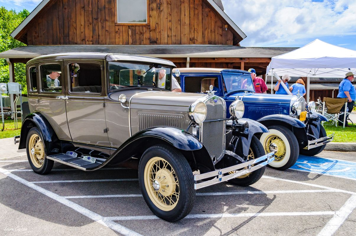 1930s Model A Ford Car - Antique Cars