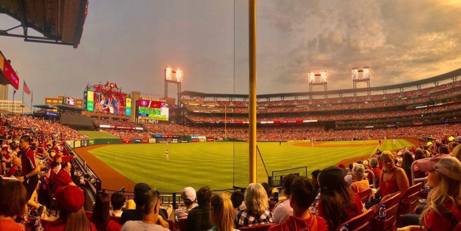 Busch Stadium View