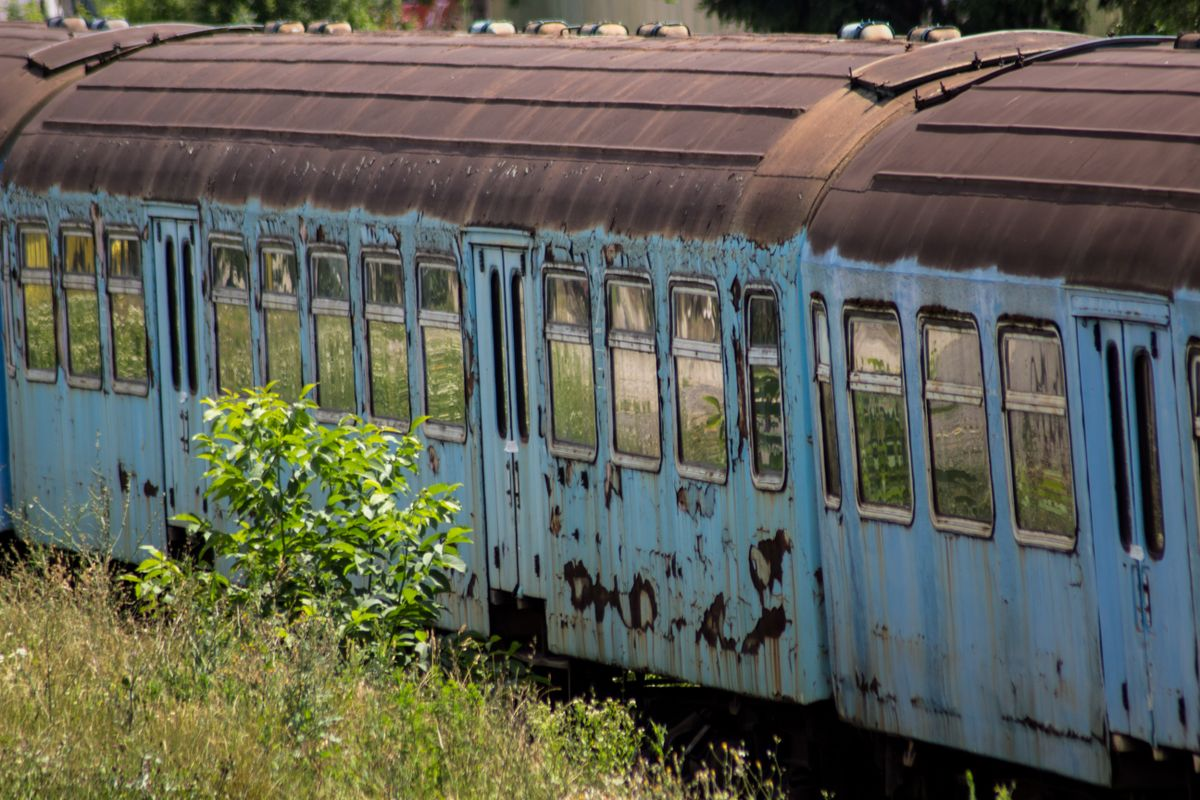 Abandoned rusty train 6
