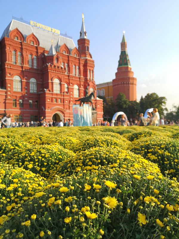 North gate of the Kremlin. Moscow.