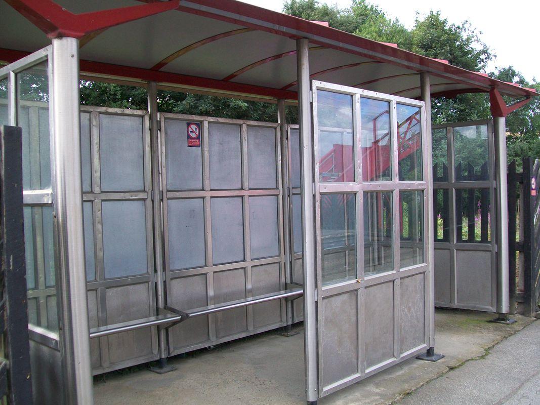 The shelter on Ravensthorpe station 03rd August 2017