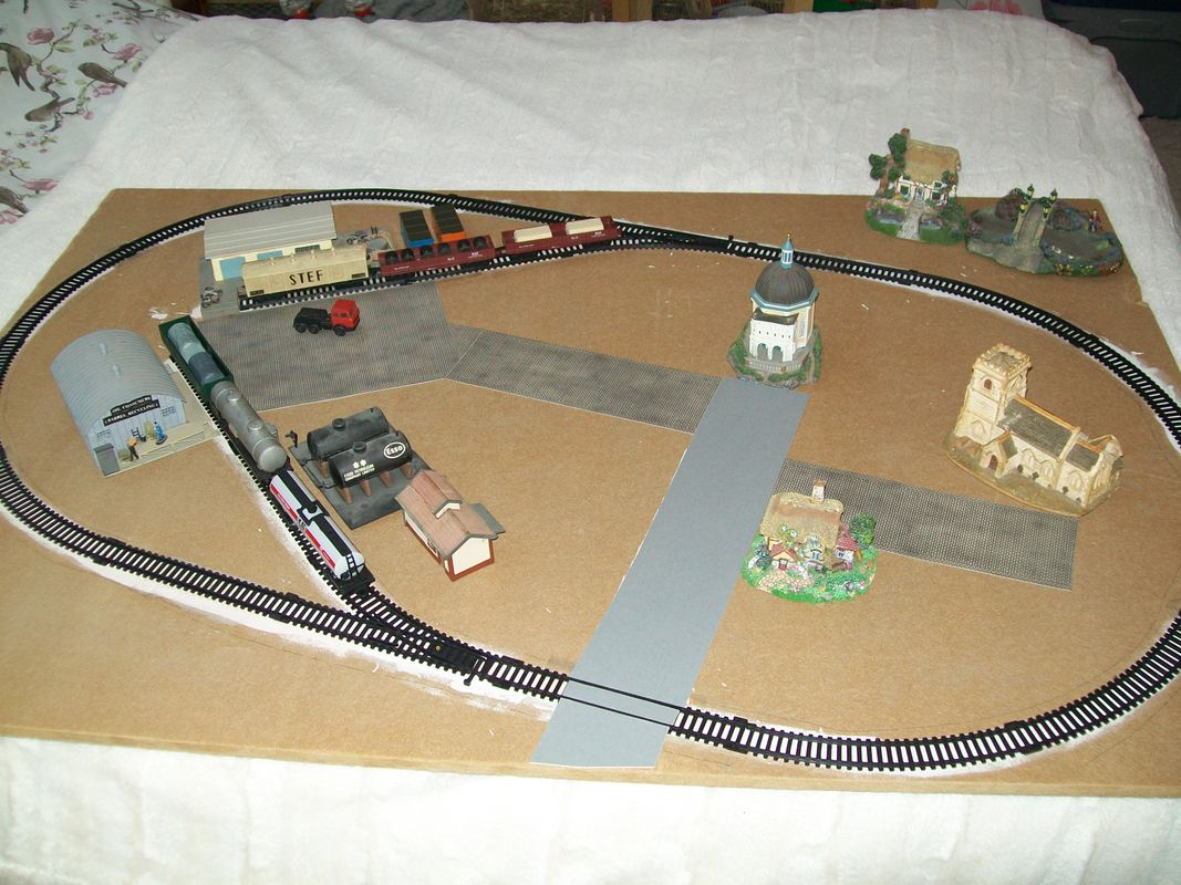 Rail king league lines model railway - under construction