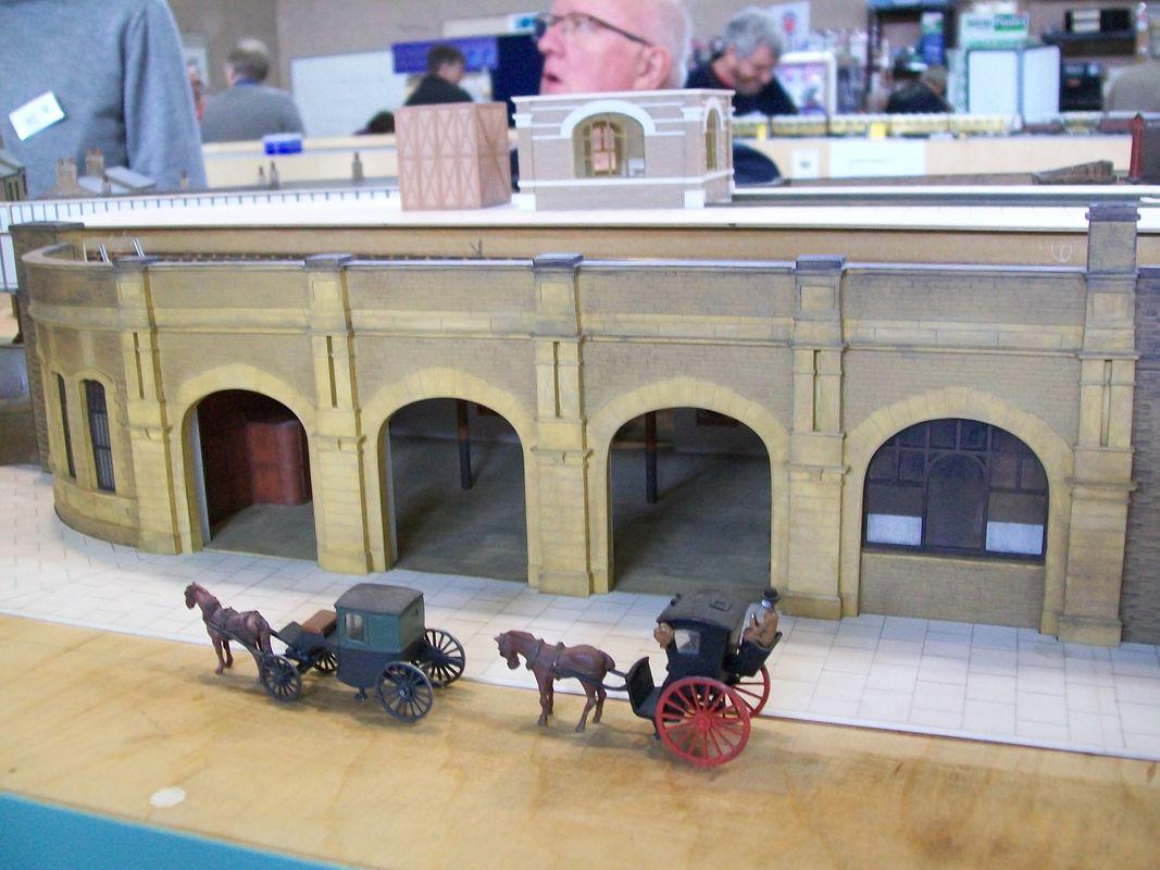 Dewsbury Central railway station model