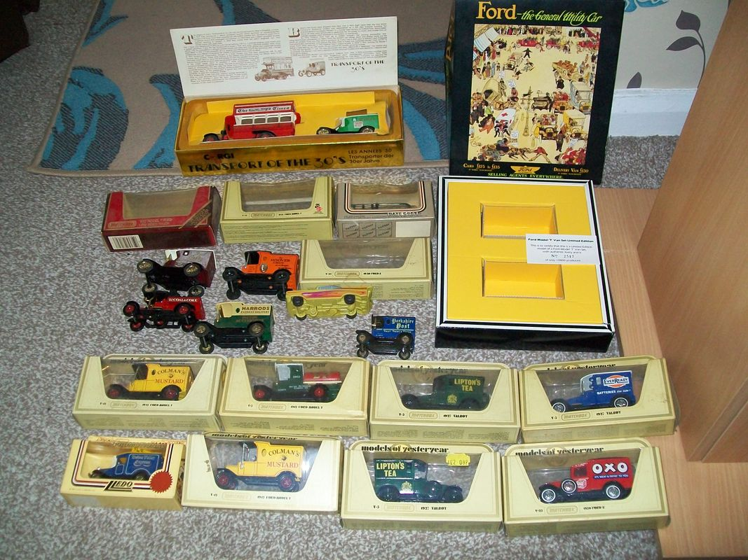 Matchbox yesteryear & Corgi models
