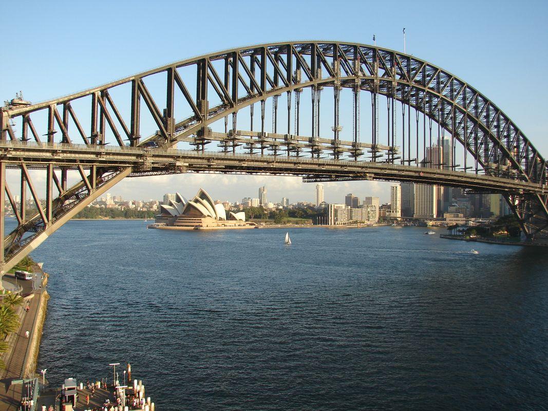 Harbour Bridge & Opera House , Sydney