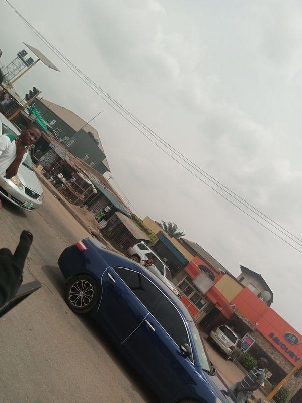 The streets of Lagos , Nigeria