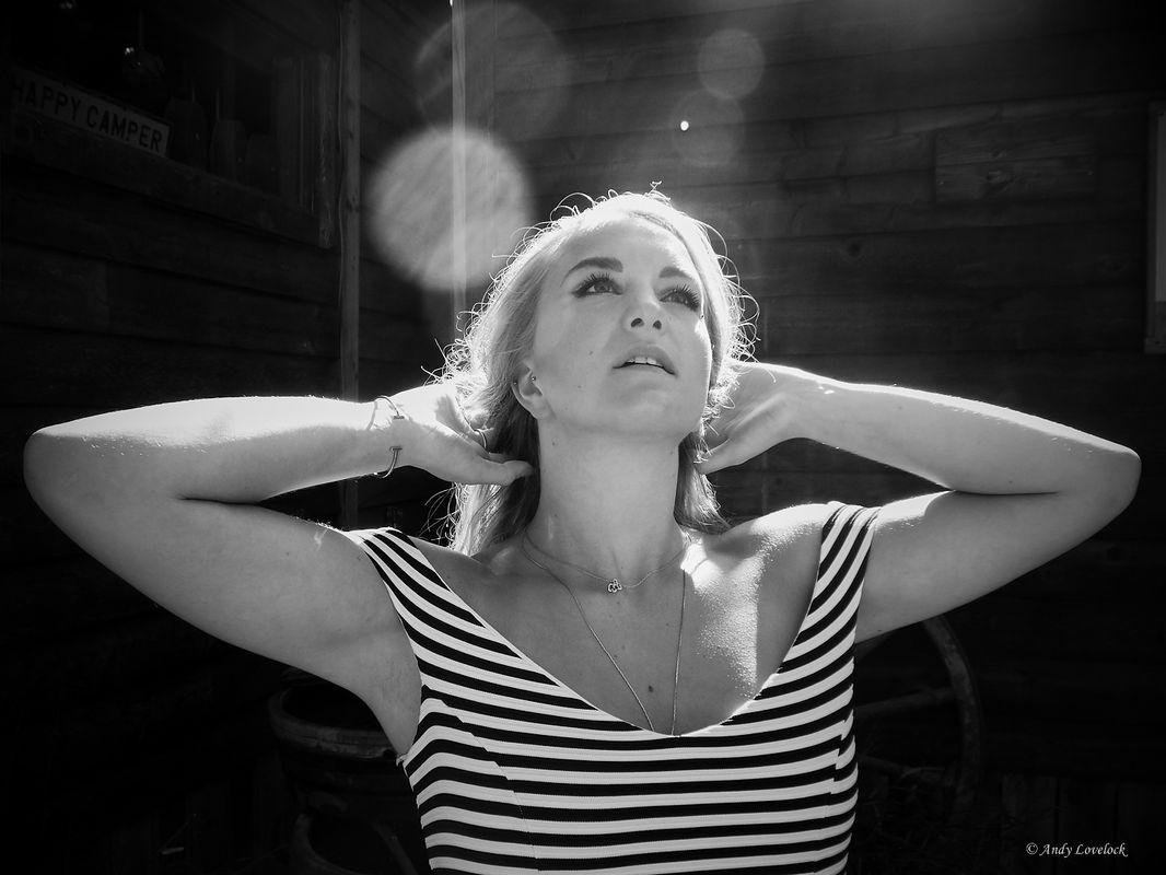 Jessica backlit