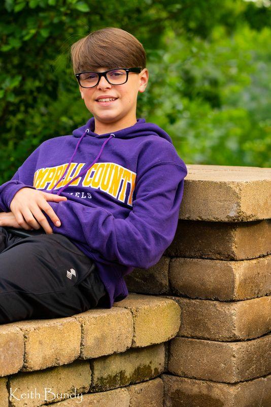Noah at 13