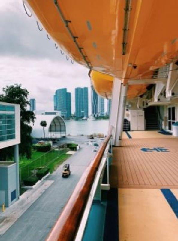 Navigator deck